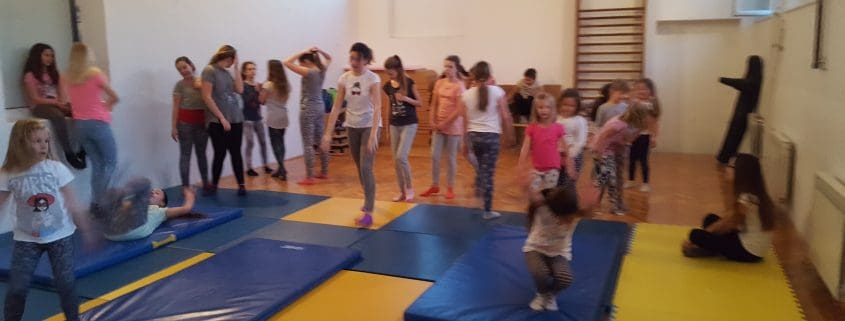 Joga i gimnastika za djecu