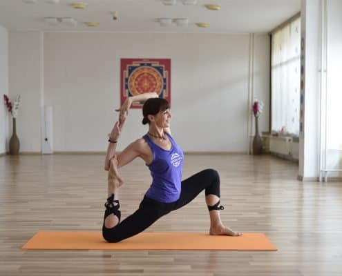 Ashtanga Inspired Class Studio One Split