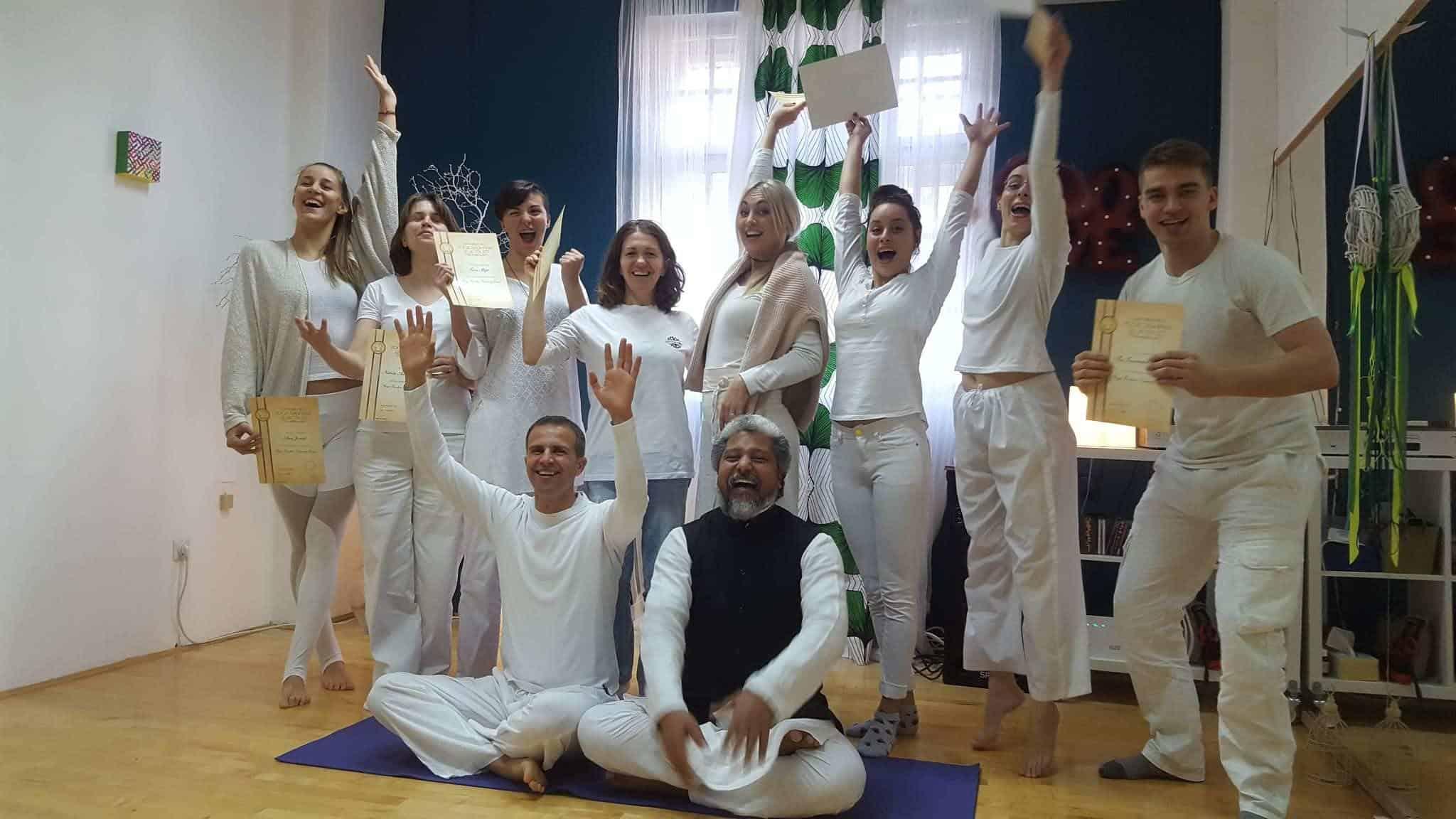 Završena škola za joga učitelje u Zagrebu