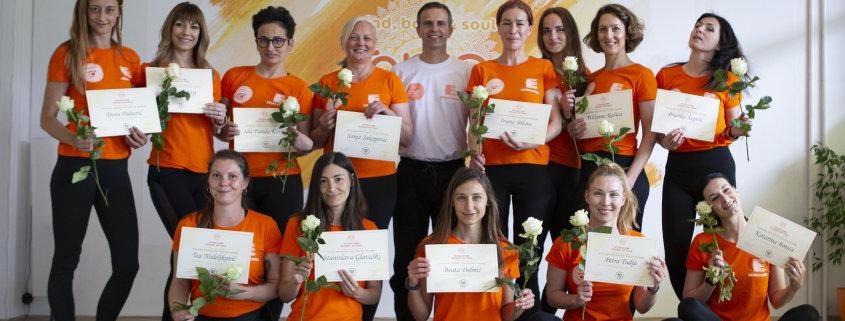 Dodjela diploma - Yoga škola Split
