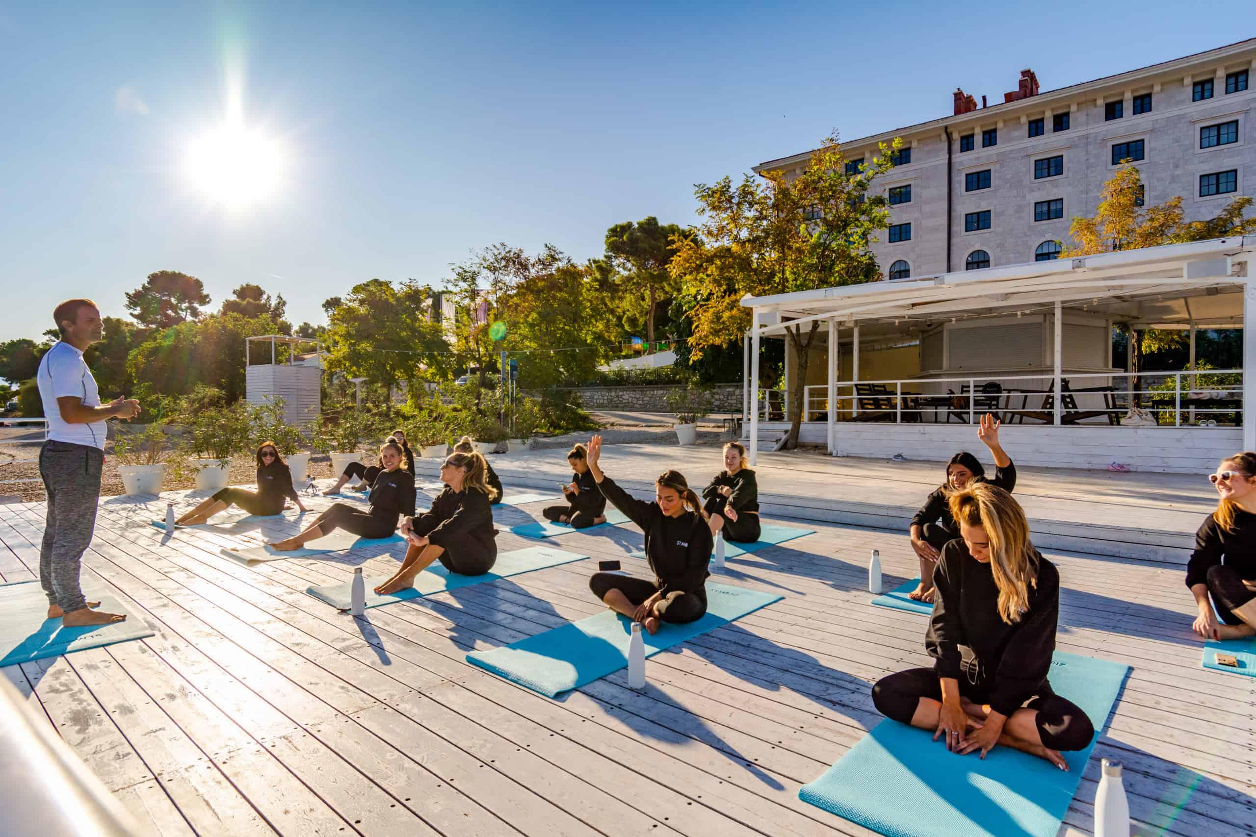 Kako podučavati jogu na engleskom Studio One Split2