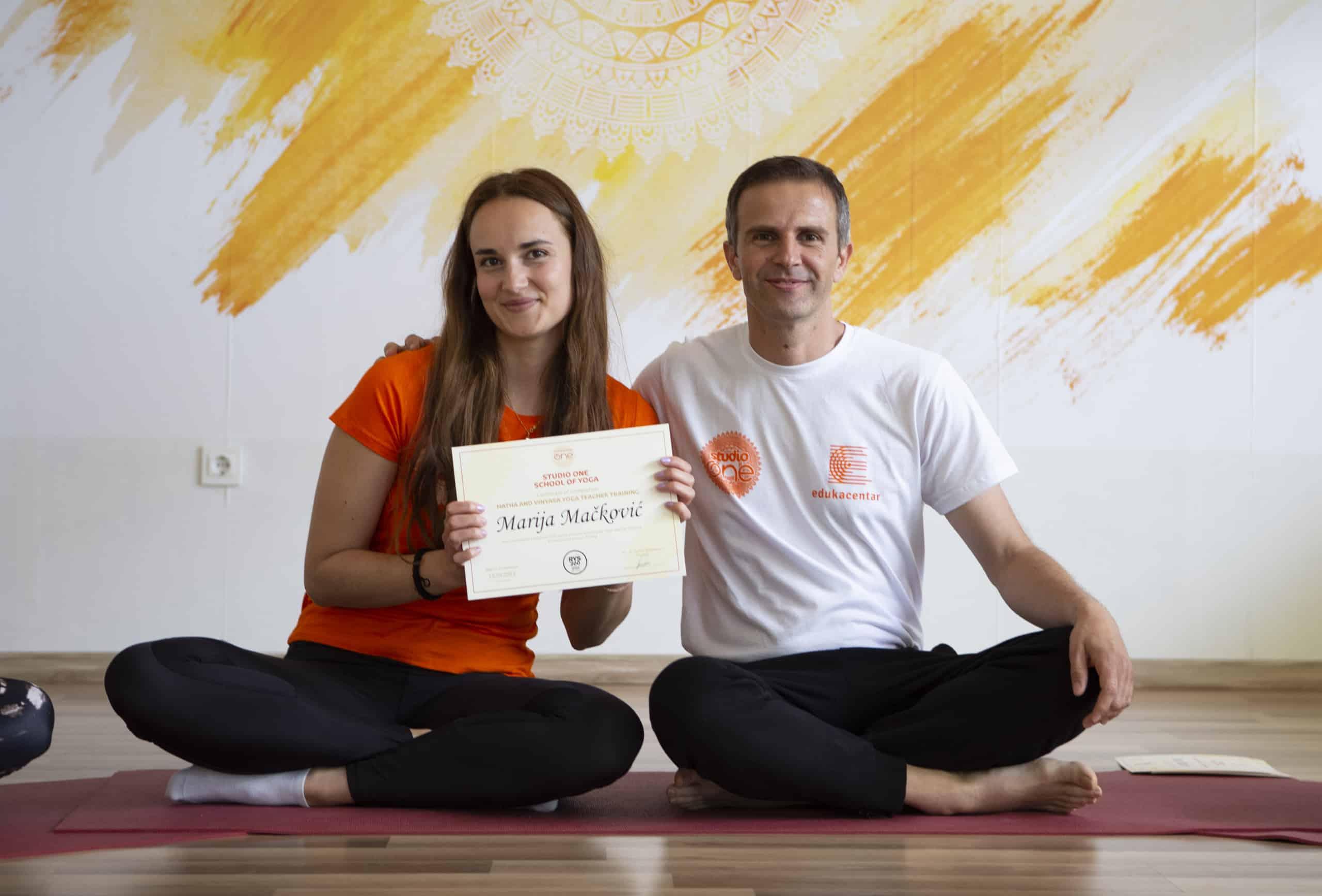Marija - iskustvo joga škole Split