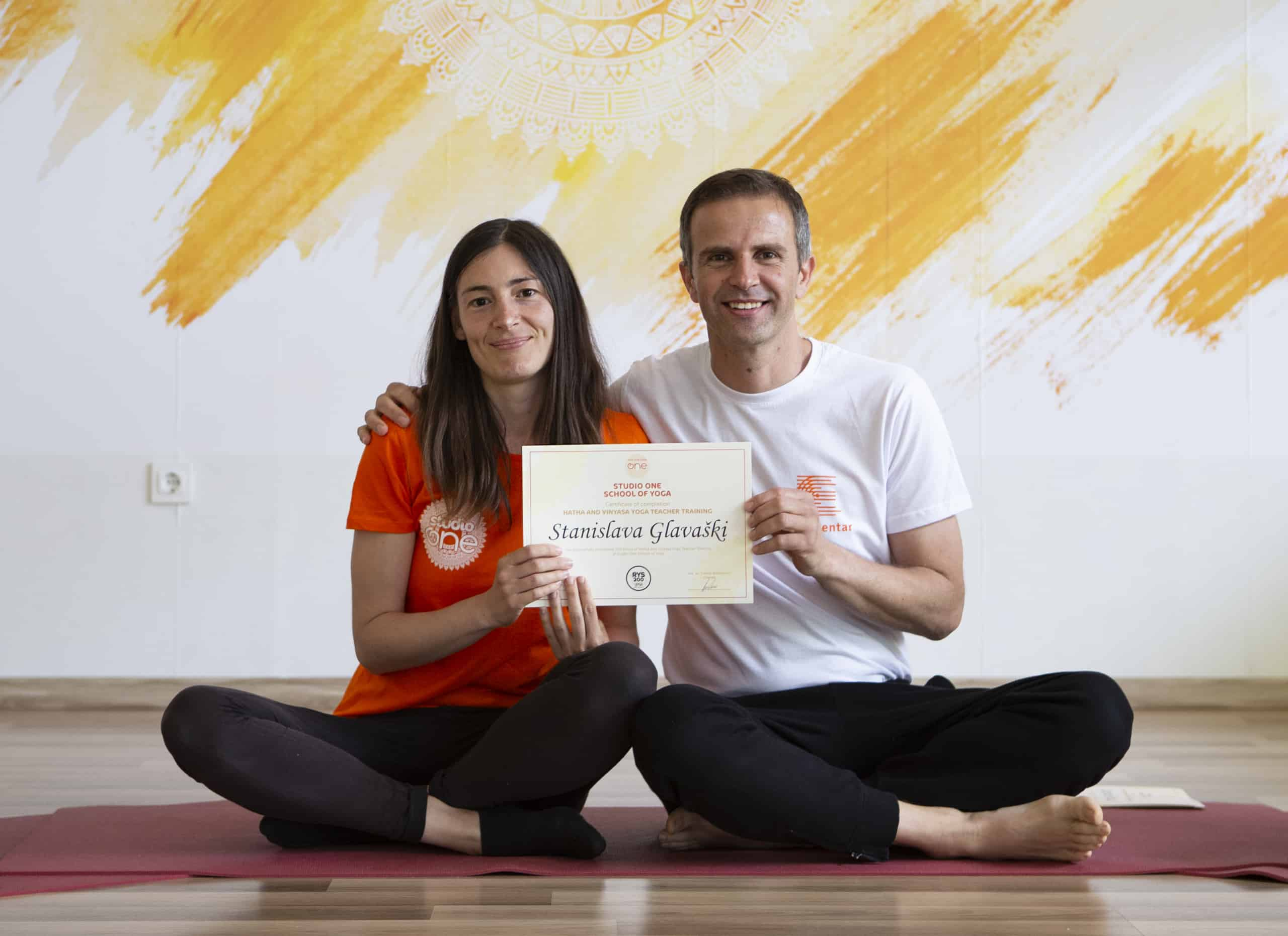 Stanislava - iskustvo joga škole