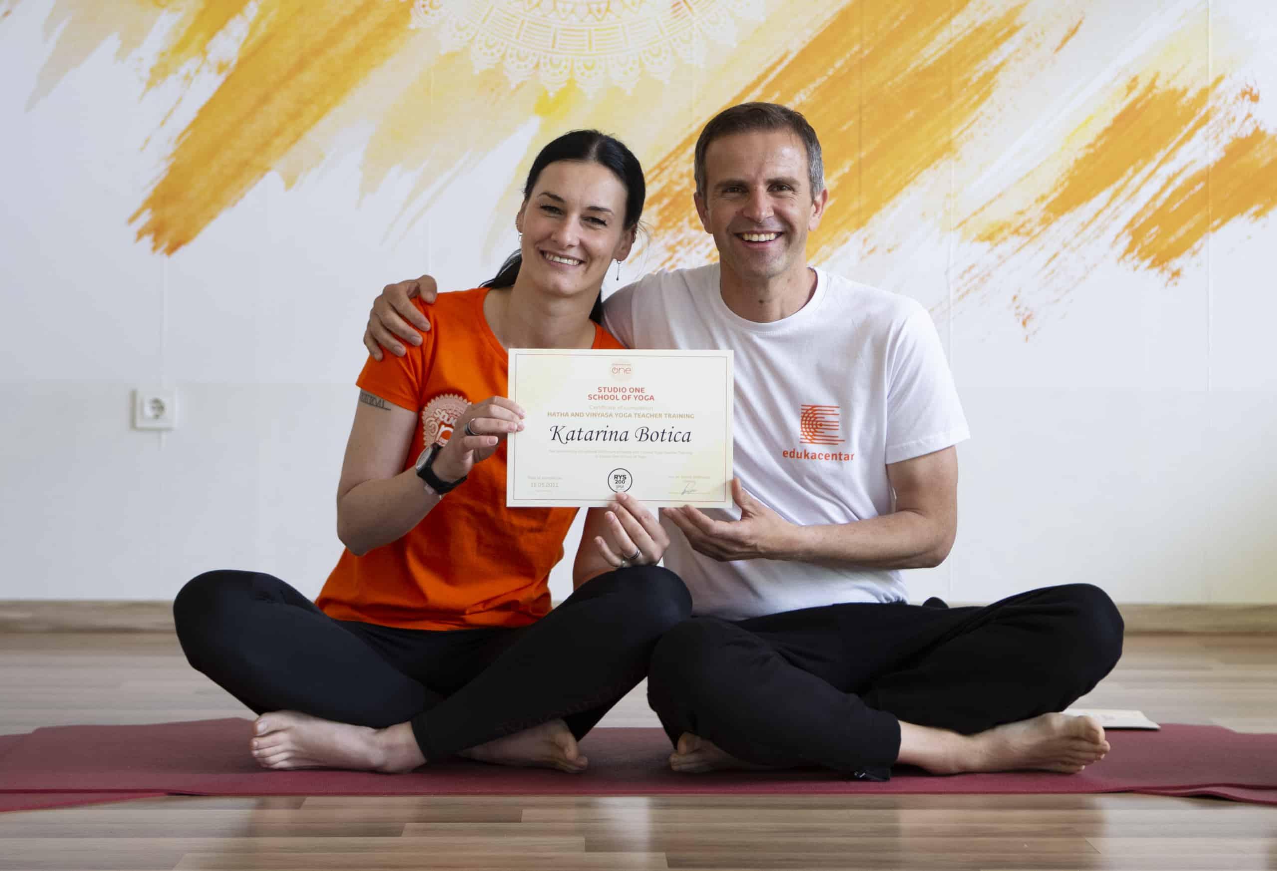 Katarina - iskustvo škole joge Studio One