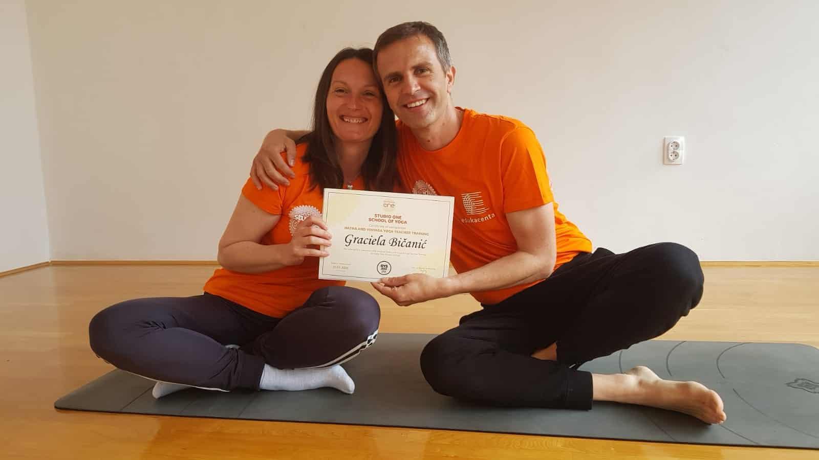 Damir i Graciela Yoga School Rijeka