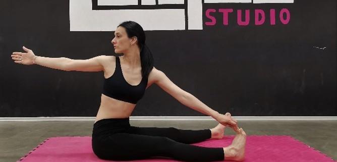 Katarina - joga i bolovi u kralježnici