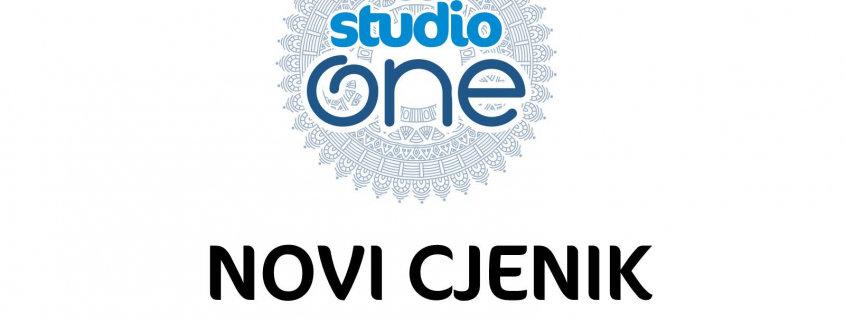 Novi cjenik Studio One